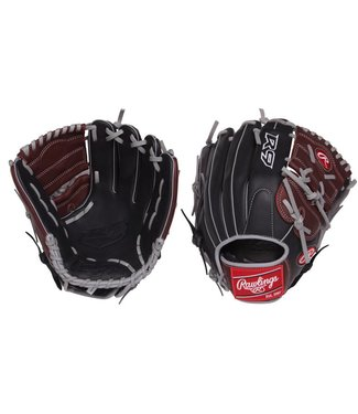 "RAWLINGS R9206-9BSG R9 12"" Baseball Glove"
