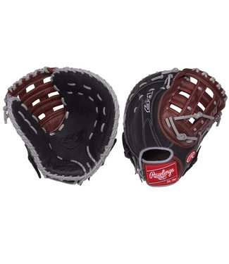 "RAWLINGS R9FM18BSG R9 12 1/2"" Firstbase Baseball Glove"
