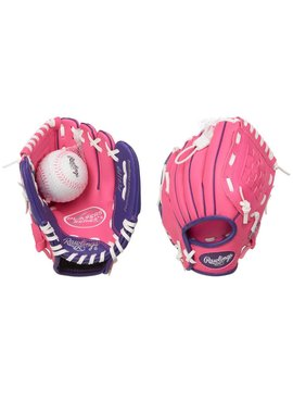 "RAWLINGS PL91PP Player's Series 9"" T-Ball Baseball Glove"