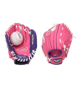 "RAWLINGS PL91PP Player's Series 9"" T-Ball Baseball Glove"