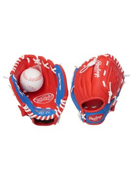 "RAWLINGS PL91SR Player's Series 9"" T-Bal Baseball Glove"