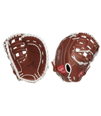 "RAWLINGS R9SBFBM-17DB R9 12 1/2"" Firstbase Softball Glove"