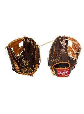"RAWLINGS PRO205W-2CH Heart of the Hide 11 3/4"" Baseball Glove"
