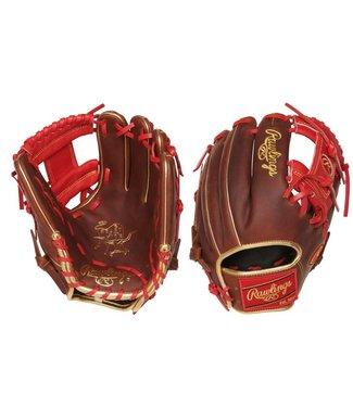 "RAWLINGS PRO204-2TIG Heart of the Hide 11 1/2"" Baseball Glove"
