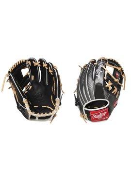 "RAWLINGS PRO204-2BCF Heart of the Hide Hyper Shell 11 1/2"" Baseball Glove"