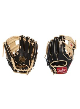 "RAWLINGS PROR314-2BC Heart of the Hide R2G Narrow Fit 11 1/2"" Baseball Glove"