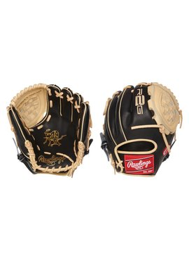 "RAWLINGS PROR201-3BC Heart of the Hide R2G Narrow Fit 10 3/4"" Baseball Glove"