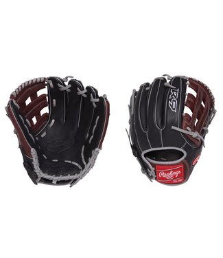"RAWLINGS R9315-6BSG R9 Narrow Fit 11 3/4"" Baseball Glove"