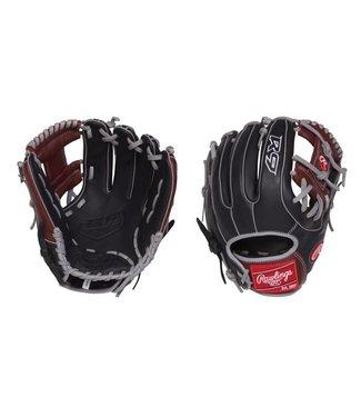 """RAWLINGS Gant Baseball R9 Ouverture Étroite 11 1/2"""" R9314-2BSG R9"""