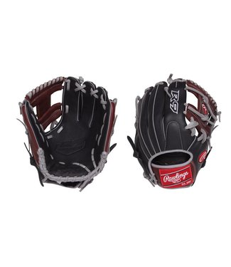 "RAWLINGS R9204-2BSG R9 11 1/2"" Baseball Glove"
