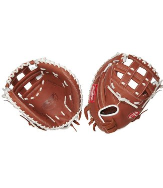 "RAWLINGS R9SBCM33-24DB R9 33"" Catcher's Softball Glove"