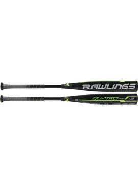 "RAWLINGS BB9Q3 Quatro Pro Comp. 2 5/8""  BBCOR Baseball Bat (-3)"