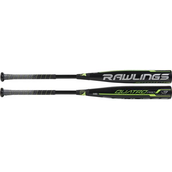"RAWLINGS Bâton Baseball Quatro Pro Comp. 2 5/8"" BBCOR (-3)"