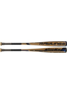 "RAWLINGS BB9V3 Velo Alloy 2 5/8"" BBCOR Baseball Bat (-3)"