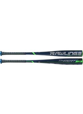 "RAWLINGS Bâton de Baseball Threat Alloy 2 5/8""  BBCOR BB9T3 (-3)"
