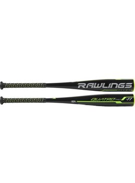 "RAWLINGS UT9Q11 Youth Quatro Pro Alloy 2 5/8"" USSSA Baseball Bat (-11)"
