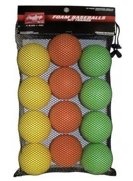 RAWLINGS Hit Trainer Balls  1DZ-  Mesh Bag