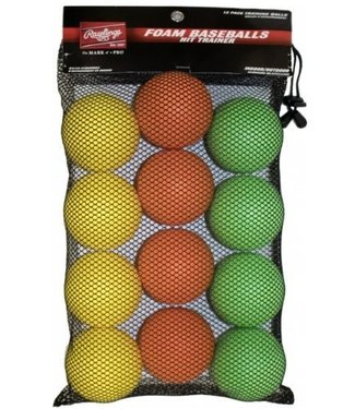 RAWLINGS Hit Trainer Balls  1DZ-  Mesh Bag