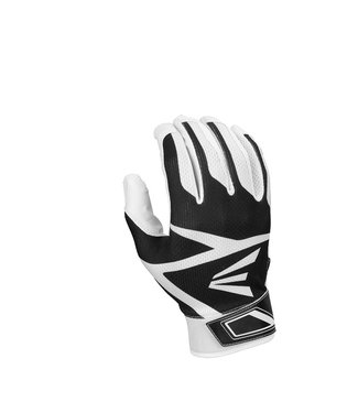 EASTON Z3 Teeball Hyperskin Tee Ball Batting Gloves White/Black