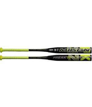 "MIKEN 2019 Miken Freak 23 Maxload 12"" Barrel USSSA Softball Bat MKP23U"