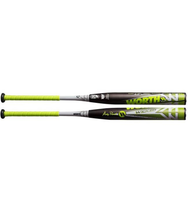 "WORTH 2019 Worth Wicked Purcell XXL Load 13.5"" Barrel USSSA Softball Bat WKAPXU"