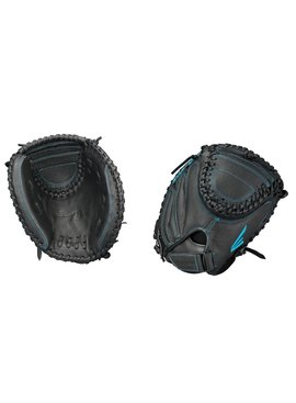 """EASTON BP2FP Black Pearl 33"""" Youth Catcher's Fastpitch Glove"""