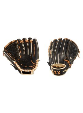 "MIZUNO GPS1BK-100DT Pro Select 12"" Black Baseball Glove"