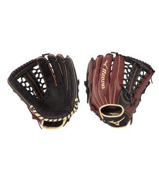 "MIZUNO GMVP1275P3BC MVP Prime 12.75"" Black-Cherry Baseball Glove"