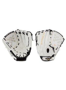 "MIZUNO GMVP1200PF3W MVP Prime FP 12"" White-Black Fastpitch Glove"