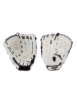 "MIZUNO GMVP1300PF3W MVP Prime FP 13"" White-Black Fastpitch Glove"