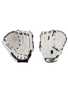 "MIZUNO GMVP1250PF3W MVP Prime FP 12.5"" White-Black Fastpitch Glove"