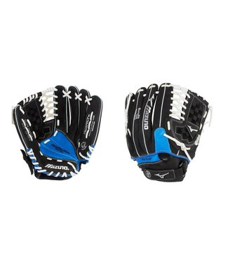 "MIZUNO GPT1175Y2 Prospect Paraflex 11.75"" Black-Royal Youth Baseball Glove"