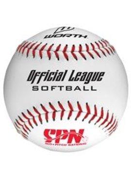 WORTH Balle Softball SPN105 (UN)
