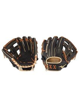 "MIZUNO GPS1BK-400R Pro Select 11.5"" Black Baseball Glove"