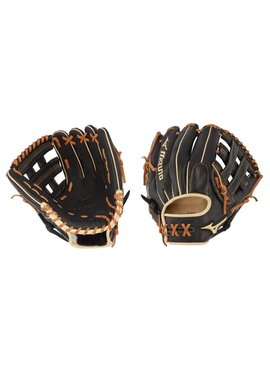 "MIZUNO GPS1BK-600D Pro Select 11.75"" Black Baseball Glove"