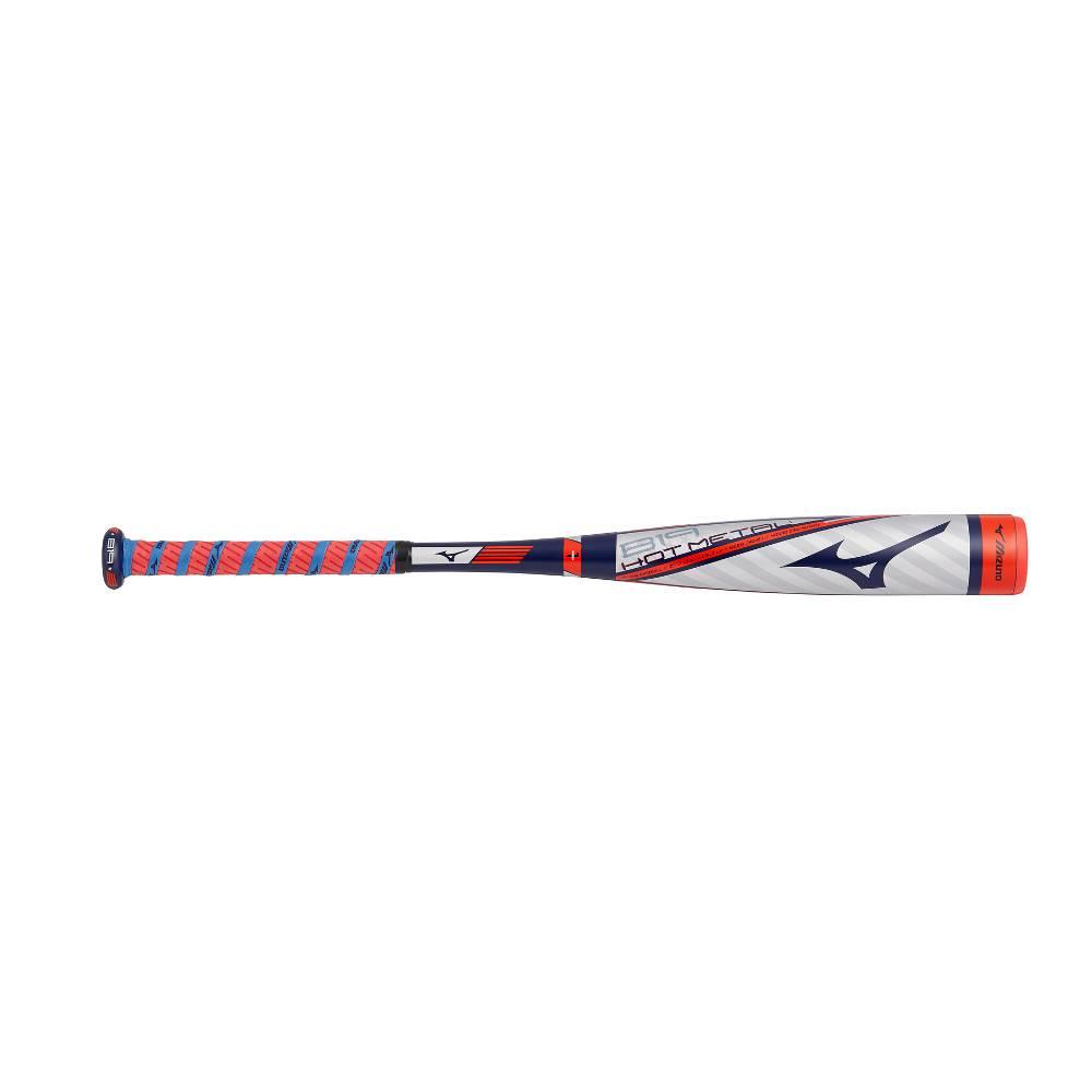 """MIZUNO Bâton de Baseball B19 Hot Metal 2 1/4"""" USA (-13)"""