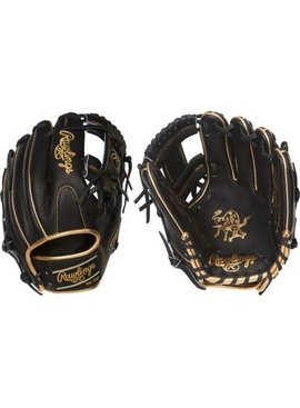 "RAWLINGS PRO204-2BGD Heart of the Hide 11 1/2"" Baseball Glove"