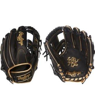 "RAWLINGS PRO204-2BGD Heart of the Hide 11 1/2"" Baseball Glove"