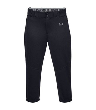 UNDER ARMOUR Pantalons de Softball Cropped pour Femmes