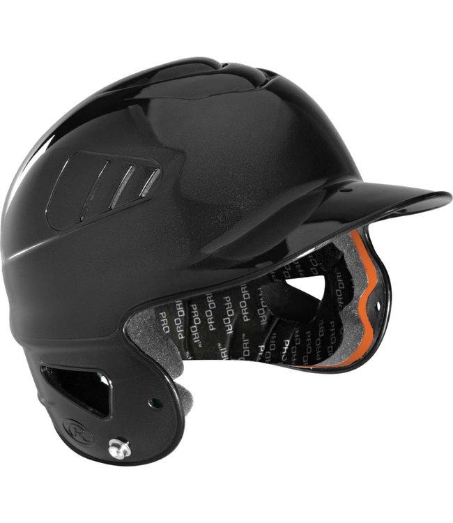 RAWLINGS Metallic COOLFLO Helmet Black