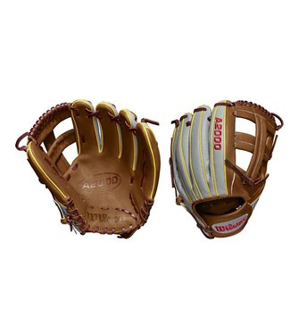 "WILSON A2000 Dustin Pedroia GM Superskin 11.75"" Baseball Glove"