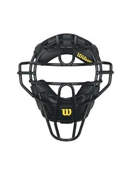 WILSON Masque de Receveur Dyna-Lite Steel avec Coussins Synthétiques