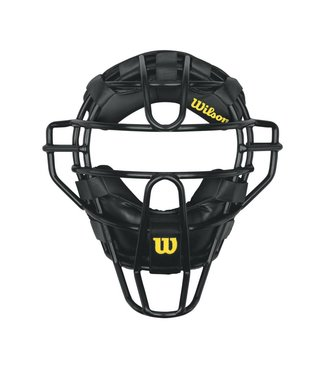 WILSON Dyna-Lite Steel Umpire Mask with synthetic Pads