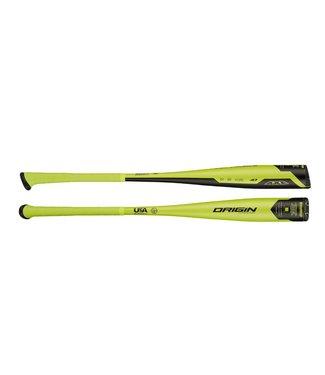 "Axe Bat Bâton de Baseball Origin HyperSpeed 1-Pièce LP1 Aluminium 2 1/2"" USA (-10)"