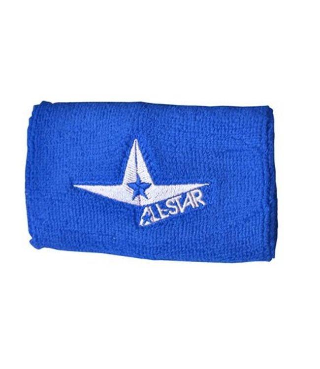 "ALL STAR Classic Tri-Star Logo Wristbands 5"""