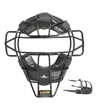 ALL STAR Superlight Traditional Umpire's Face Mask Black