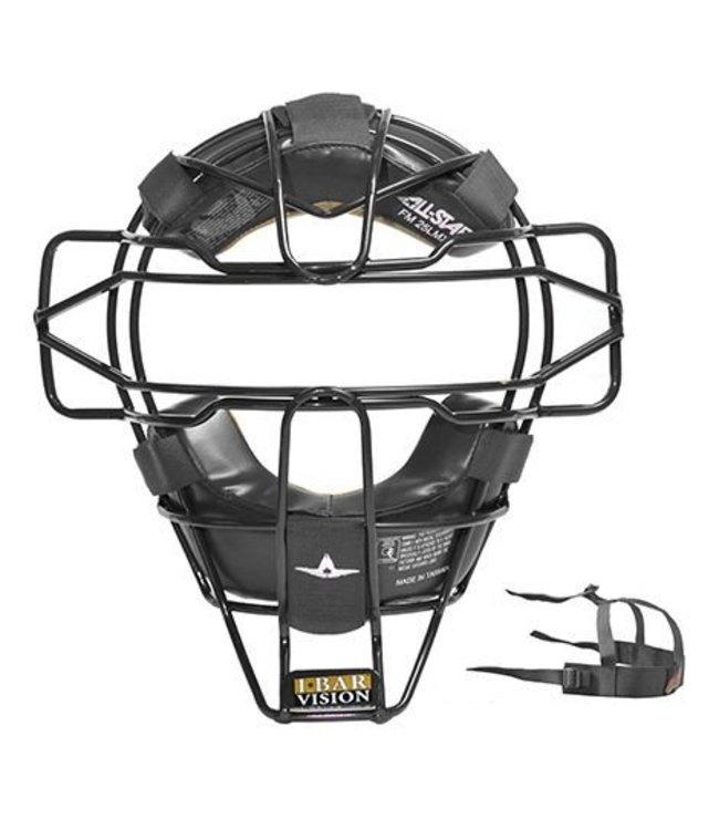 ALL STAR Superlight Traditional Umpire's Face Mask Black