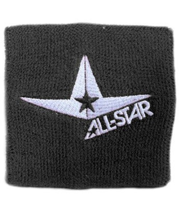 ALL STAR Classic Tri-Star Logo Wristbands 3 1/2""