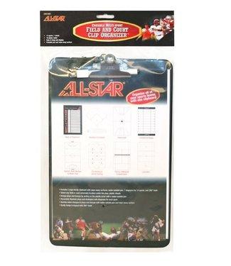 ALL STAR Multi Sport Erasable Clip Board