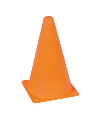 "9"" Orange Plastic Pylon"